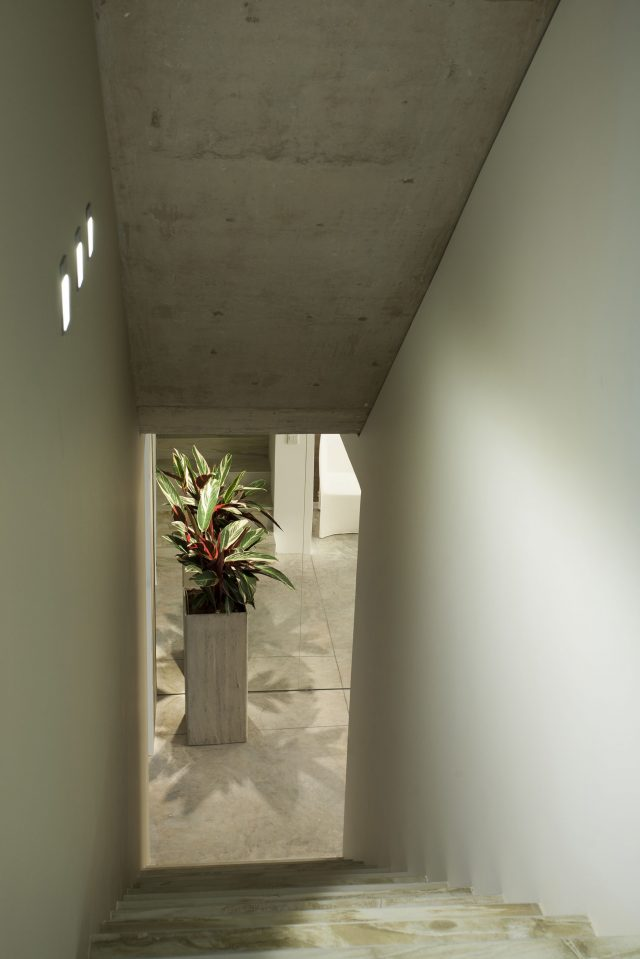 Staircase to Garage
